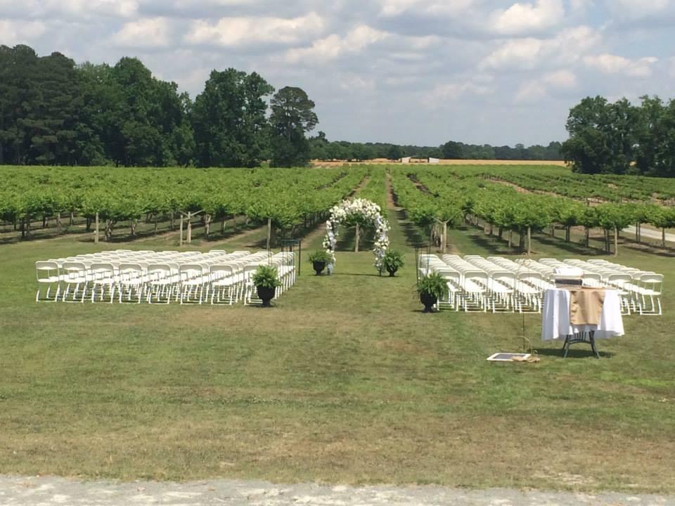 ceremony set up 3
