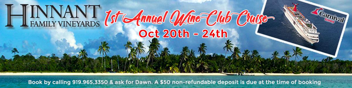 1st Annual Wine Club Cruise
